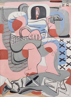 Charles and Ray Eames admired and were inspired by great Swiss architect, LE CORBUSIER. Here a Corbusier painting in the new museum: Pavillon le Corbusier Le Corbusier Marseille, Ronchamp Le Corbusier, Alvar Aalto, Magnum Photos, Chandigarh, Le Corbusier Architecture, Zaha Hadid, Villa Savoye, Landscape Architecture Drawing