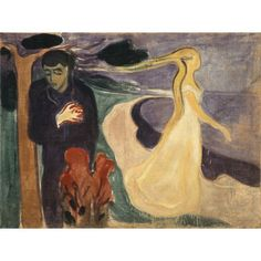 Separation is an Expressionist Oil on Canvas Painting created by Edvard Munch in It lives at the Munch Museum in Norway. The image is in the Public Domain. Edvard Munch, Giacometti, List Of Paintings, Critique D'art, Art Criticism, Google Art Project, Wassily Kandinsky, Pablo Picasso, Penguin Classics