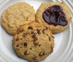 Awesome low carb cookies using almond meal, peanut butter, and cream cheese. You can do so much with these!