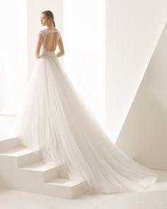Rosa Clara — Marry Me Bridal Mosman Wedding Dress Crafts, Wedding Dresses 2018, Tulle Wedding, Bridal Dresses, Sister Wedding, Wedding Story, Beautiful Wedding Gowns, Princess Style, Lace Bodice