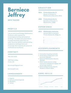 Beige And White Simple Formal Corporate Teacher Resume  Resume