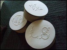 Monogram boxes
