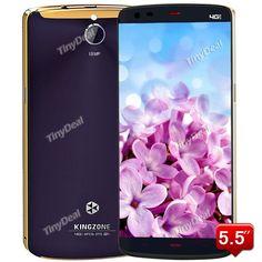 """Presell KINGZONE Z1 5.5\"""" JDI HD Android 4.4 MTK6752 64-bit 4G LTE Phone 13MP CAM 2GB RAM 16GB ROM P089-KZZ1"""