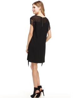 cooper & ella Leah Fringe Dress #cooperandella