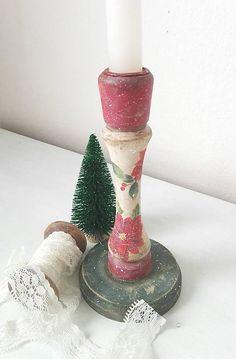 tinuszDecorArt / Vianočný svietnik