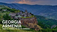 What are the best places to visit in Armenia? Welcome to our Armenia Travel Guide. After crossing the border from Georgia to Armenia we quickly fell in love . Armenia Travel, Travelling Tips, Traveling, Stuff To Do, Things To Do, Ultimate Travel, Cool Places To Visit, Beautiful Landscapes, Travel Guide