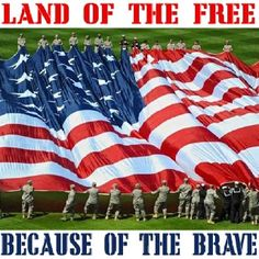 Free because of the Brave