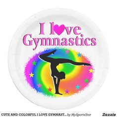 CUTE AND COLORFUL I LOVE GYMNASTICS DESIGN Use Promo Code: CYBRWEEKSALE for the best selection of Gymnastics Tees and Gifts from Zazzle. http://www.zazzle.com/mysportsstar/gifts?cg=196751399353624165&rf=238246180177746410   #Gymnastics #Gymnast #WomensGymnastics #Gymnastgift #Lovegymnastics
