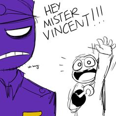 fnaf mike and purple guy