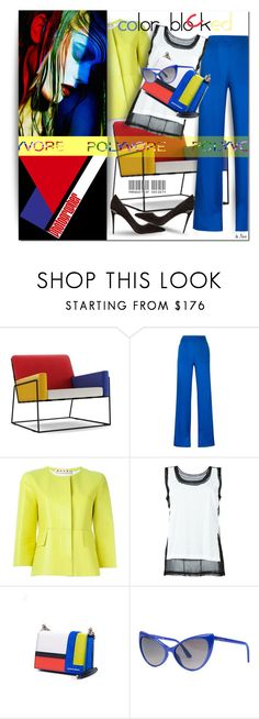 """""""DSQUARED 2, Colour Block Crossbody Bag"""" by deneve ❤ liked on Polyvore featuring Moooi, Dsquared2, Marni, Maison Margiela, Tom Ford, Gucci and polyvoreeditorial"""