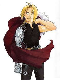 Edward Elric manga color