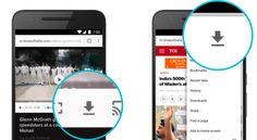 Google Chrome para Android ya te permite la descarga de sitios web para verlos offline