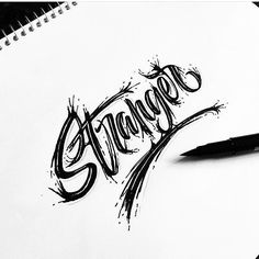 Fantastic text effect by @ritchieruiz - #typegang - free fonts at typegang.com   typegang.com #typegang #typography