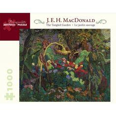 POMEGRANATE PUZZLES - J. E. H. MacDonald: The Tangled Garden 1000 Piece Jigsaw Puzzle (AA824)