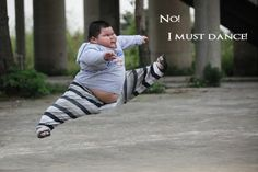 No I must dance