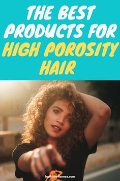 Looking for some tips for high porosity hair? Here you'll learn how to pick the best products for high porosity hair! Long Hair Tips, Grow Long Hair, Easy Hairstyles For Long Hair, Growing Out Short Hair Styles, Damp Hair Styles, Low Porosity Hair Products, Hair Porosity, Vitamins For Hair Growth, Hair Vitamins