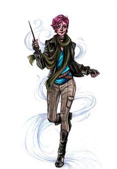 Tonks by Muirin007: Professional nerd