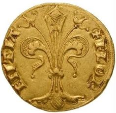 lilly, fleur-de-lis - Holy Roman Empire, Kingdom of Hungary, Louis I of Anjou goldgulden (obverse) Roman Artifacts, Ancient Artifacts, Fromm, French Coins, Holy Roman Empire, Landsknecht, Coin Art, Gold And Silver Coins, Antique Coins