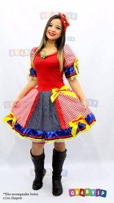 Resultado de imagem para vestidos de festa junina