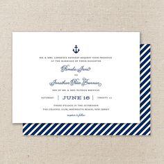 #Wedding #Invite #Nautical