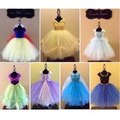 Adult Princess Inspired Tutu Dresses various lengths Snow