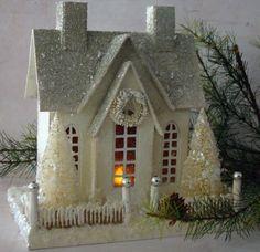 Christmas house by Rene
