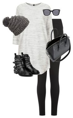 """""""Untitled #9884"""" by alexsrogers ❤ liked on Polyvore featuring Topshop, Dakine, MANGO, Tom Ford and Givenchy"""