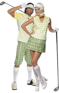 Adult Golf Couple Combination