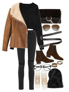 """""""Untitled #7912"""" by nikka-phillips ❤ liked on Polyvore featuring Chloé, rag & bone, Dolce&Gabbana, Acne Studios, Coach, Toast, Yves Saint Laurent and Forever 21"""