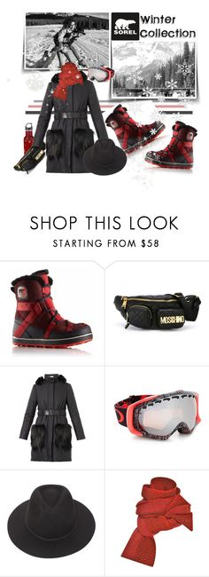 """""""Introducing the 2015 Winter Collection from SOREL: Contest Entry"""" by iraavalon ❤ liked on Polyvore featuring SOREL, Moschino, Fendi, Oakley, Brixton and Prabal Gurung"""