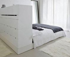 Bed room and closet
