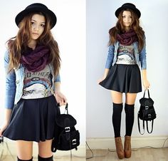 korean fashion - ulzzang - ulzzang fashion - cute girl - cute outfit - seoul style - asian fashion - korean style - asian style - kstyle k-style - k-fashion - k-fashion