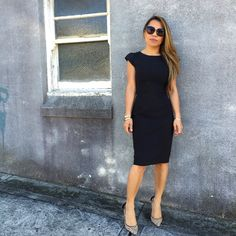 Finding the perfect work LBD - Little Miss Corporate Corporate Blog, Corporate Fashion, Dress For You, Dresses For Work, Dress Cuts, Like A Boss, Little Miss, Lbd, Streetwear Fashion