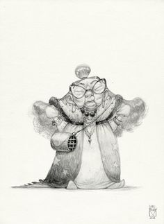 Blad Moran (Sketchtober | 002)