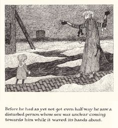 A surviving copy of the limited-edition Gorey gem The Green Beads, digitized.