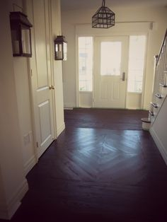 Just beachy , custom wood floor, dark wood floors, pine floors