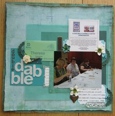 Inspired by some Shimelle Laine prompts. My Scrapbook, Prompts, Inspired, Cover, Books, Inspiration, Art, Wool, Livros