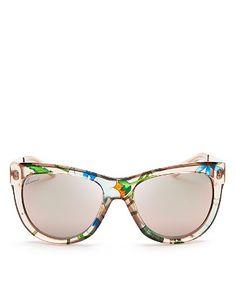 Gucci Oversized Wayfarer Sunglasses | Bloomingdale's