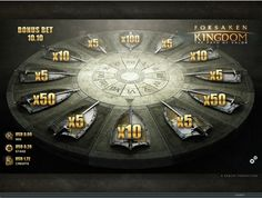 Forsaken Kingdom video slot is available to play at Wintingo online casino