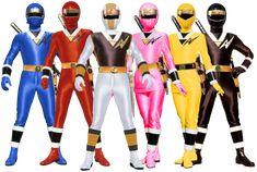 The Mighty Morphin Alien Rangers Team with Alien White Falcon Ranger, Alien Pink Ranger and Alien Yellow Ranger Female.  If production had notdecreed theAlien Rangers miniseries, ...