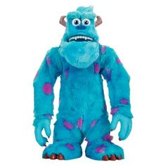 Monsters University Scare Talkin' Sulley Plush Toy