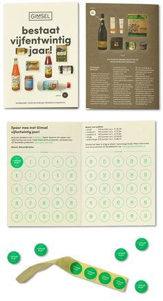 """""""For 25 years, the Rotterdam based supermarket Gimsel, is selling organic foods and cosmetics to a growing group of customers,"""" they explain. """"Studio Beige created a new logo, pay-off, visual and brand identity, signage and website."""""""