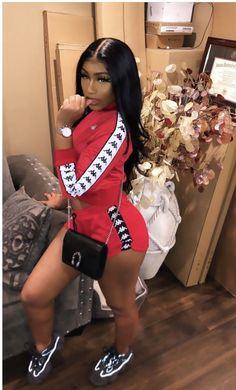 Best Baddie Outfits Part 12 Cute Swag Outfits, Chill Outfits, Dope Outfits, Trendy Outfits, Summer Outfits, Fashion Outfits, Outfits For Black Girls, Dress Outfits, Black Women Fashion