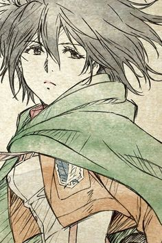 I hate her...but she looks good here<<hey you hating on Mikasa? WHY YOU HATING PN HER SHES A SUCH AN IMPORTANT STRONG FEMALE CHARACTER LIKE WTF yes she can be protective river eren buuut HES THE ONLY FUCKING FAMILY SHE HAS LEFT! SHE LOST HER FAMILY TWICE AND SHE ONLY HAS EREN NOW. (I'm sorry I'm kinda delirious rn but srsly Mikasa is awesome)