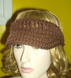 Crochet Visor