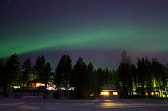 6 atemberaubende Orte, um die Nordlichter zu sehen   Skyscanner 2. Ivalo, Finnland