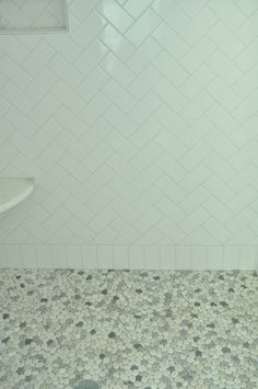 Bungalow Blue Interiors - Home Bathroom tile