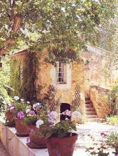 Cottage under the Tuscan sun.