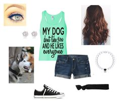 """""""Untitled #110"""" by j-murphy-1 ❤ liked on Polyvore featuring River Island, Aéropostale, Converse and Glam Bands"""