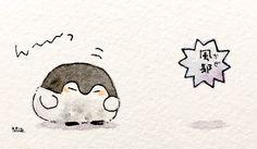 Penguin Cartoon, Penguin Party, Kawaii Wallpaper, Spirit Animal, Hello Kitty, Snoopy, Cats, Artist, Japan
